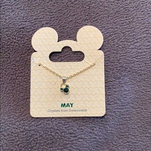 Disney birthstone necklace